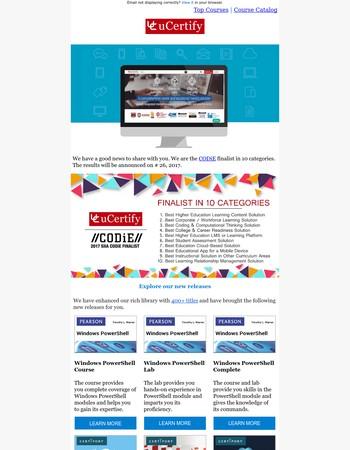 uCertify June Newsletter