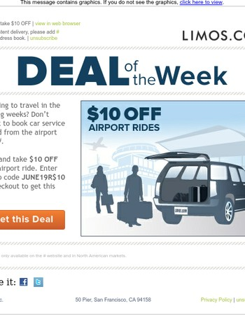 ✈ Save $10 on Airport Car Service