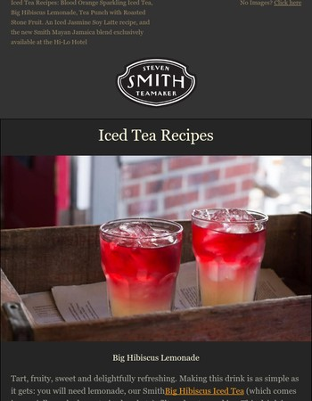 Iced Tea Recipes for this Summer