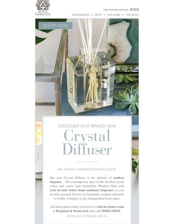 Discover our New Crystal Diffuser...