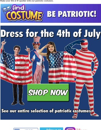 Will you be Patriotic this 4th of July?