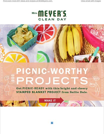 Perk up your summer days with these projects perfect for picnics