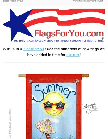 Get your summer on with FlagsForYou