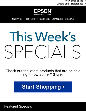 Is it on sale? Check out the week's specials