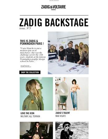 #zadigbackstage, Issue N°5