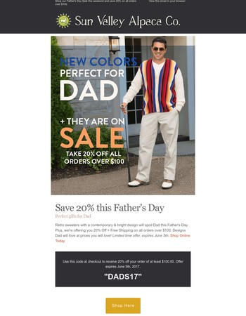 New Colors On Sale Perfect For Father's Day