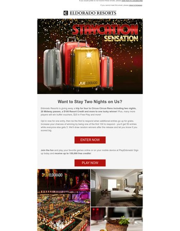 Win a Staycation Sensation!