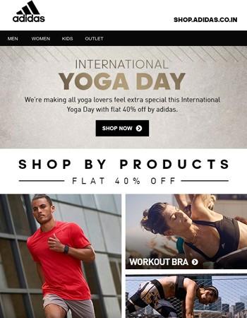Celebrate Yoga Day with adidas!