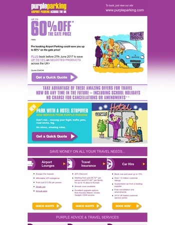 Purple Parking Ltd. Newsletter