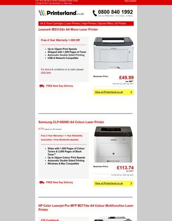 Your Printer