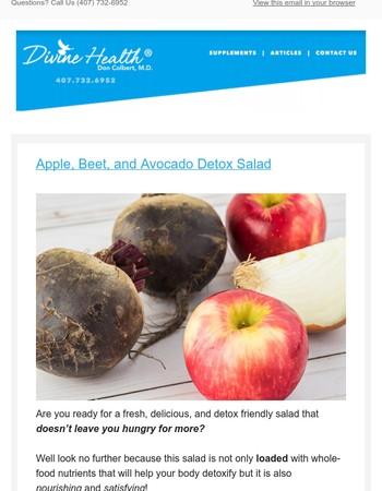 Just For You! Ultimate Detox Salad Recipe Inside...