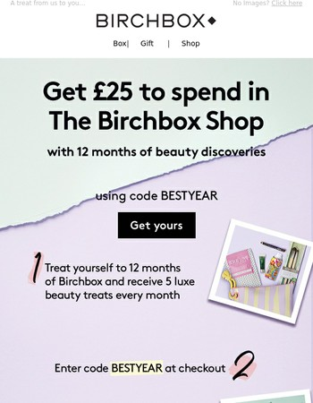 £25 To Spend In The Birchbox Shop With Beauty Discoveries