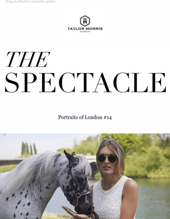 The Spectacle I Portraits Of London #14 with showjumper Jessica Mendoza I Reaching new heights