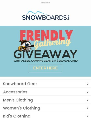 Only A Few Days Left | Enter The Frendly Gathering Giveaway!