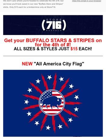 Stars & Stripes & Buffalo!