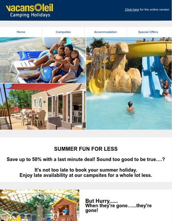 Summer Fun For Less
