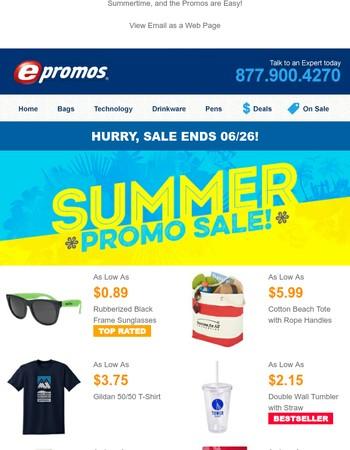 Summer Sale Ends Soon!
