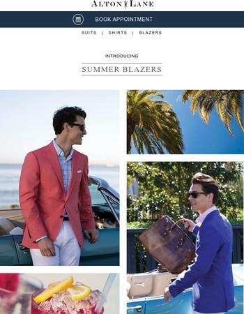 Introducing: Summer Blazers