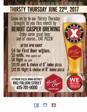 Thirsty Thursday Features Benoit Casper