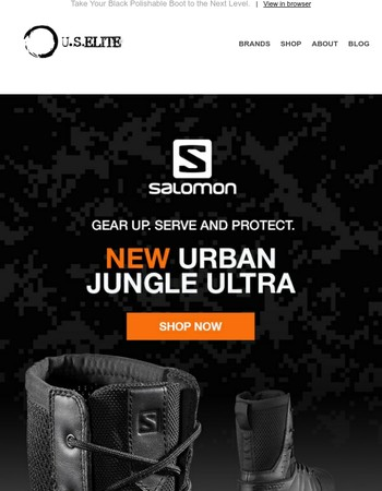 Be the First to Own the New Salomon Forces Urban Jungle Ultra