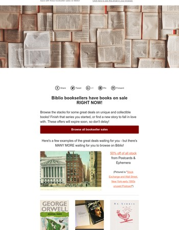 Save up to 70% from select Biblio booksellers.
