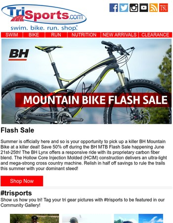 Mountain Bike Flash Sale