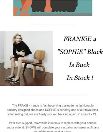 Sassy Sophie Is Back In Stock!
