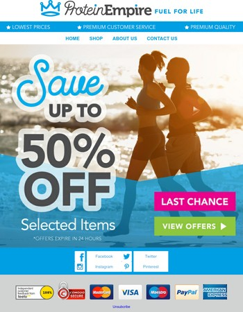 Only 48 Hours Left To Save Up To 50% Off