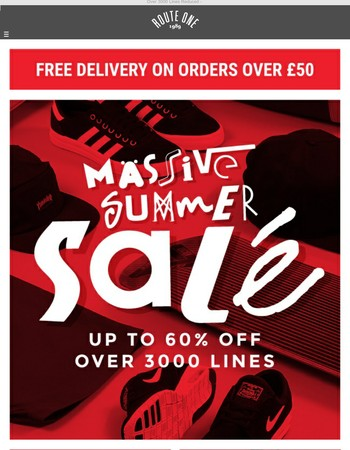 Massive Summer Sale Now On - Up To 60% Off