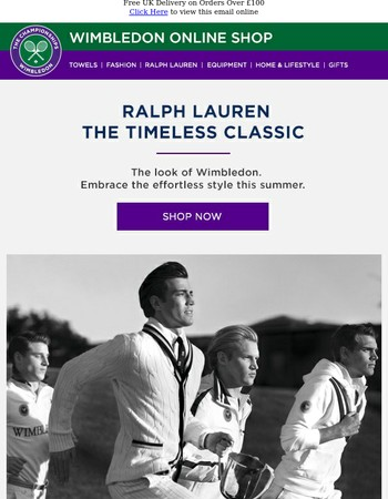 The Latest Styles from Ralph Lauren | Official Outfitter of the Championships