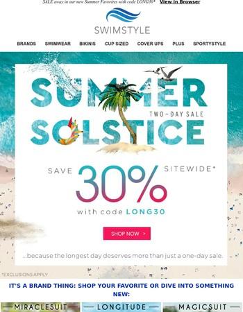 IT'S HERE! Summer Solstice SALE