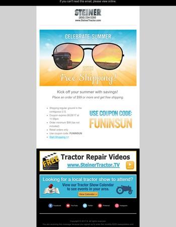 Sizzling Summer Savings ☀︎Use code: FUNINSUN