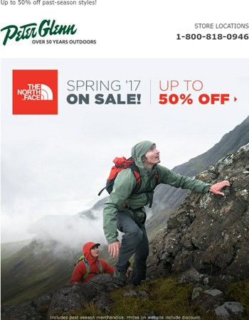 The North Face Spring '17 on SALE!