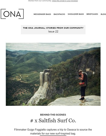 The ONA Journal: Issue 22