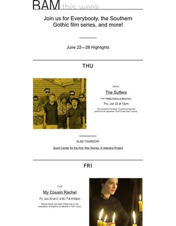BAM This Week: Jun 22—28