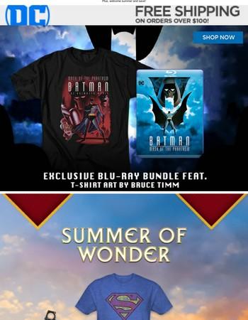 Exclusive Batman: Mask of the Phantasm Blu-ray bundle!