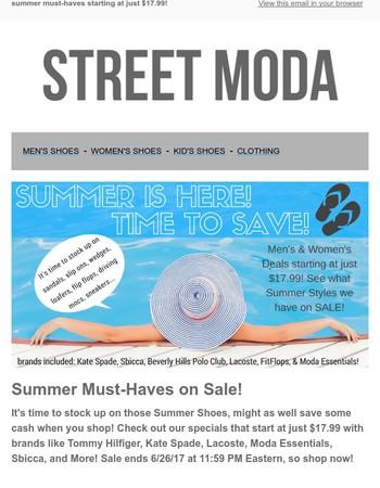 Street Moda Newsletter
