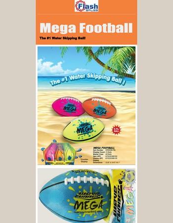 Wave Runner - MEGA FOOTBALL! Take it to the beach!