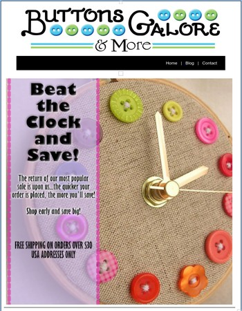 Beat The Clock and Save 25%
