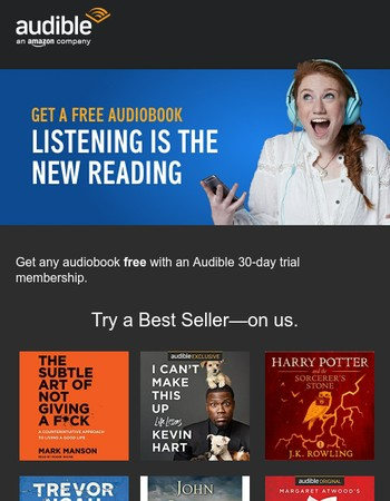 Your audiobook is ready
