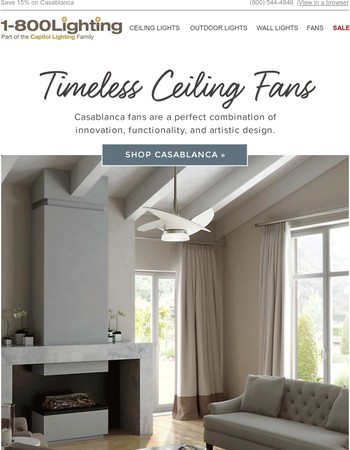 Timeless Ceiling Fans