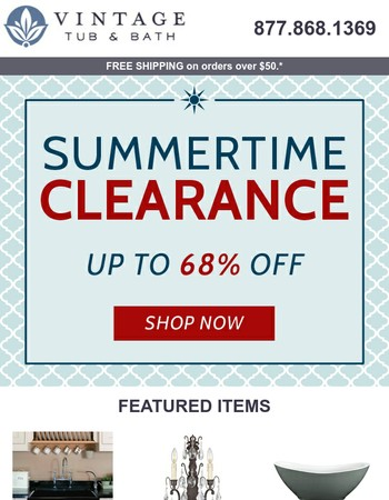It's Summertime Savings!