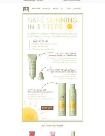 Protect Your Skin with These New Pixi Favourites