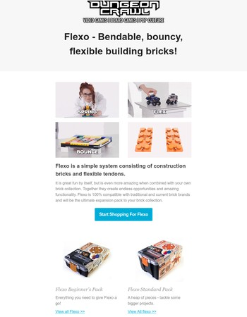 Calling all Lego builders - Time to flex your muscles with Flexo!