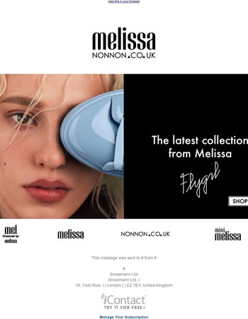 The latest collection from Melissa - AW17