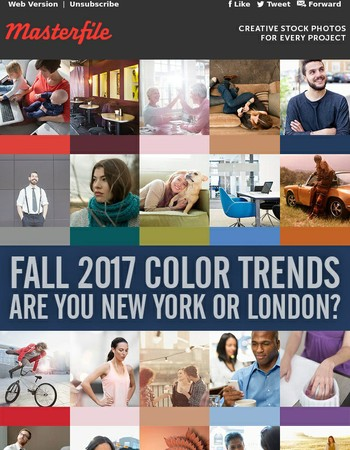 Fall 2017 Color Trends: Are You New York or London?