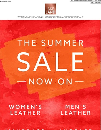 The Lakeland Summer Sale - up to 50% OFF