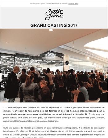 Grand Casting 2017