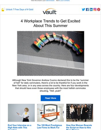 4 Workplace Trends to Get Excited About This Summer