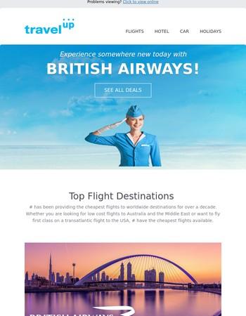 Start Your City or Beach Break With British Airways Flights